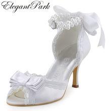 9276b378e7 Wedding Shoes White Satin Promotion-Shop for Promotional Wedding ...