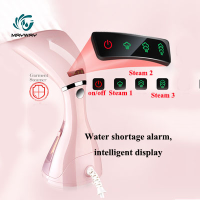 Intelligent Display Portable Travel Garment Steamers Clothes Mini Steam Iron Handheld Cleaning Brush Clothes Household Ironing
