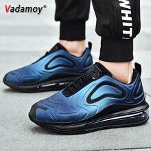 2019 новые мужские беговые кроссовки, воздух подушка удобная спортивная обувь спортивные кроссовки спортивные прогулочная обувь плюс Размеры, 47 (Европа)