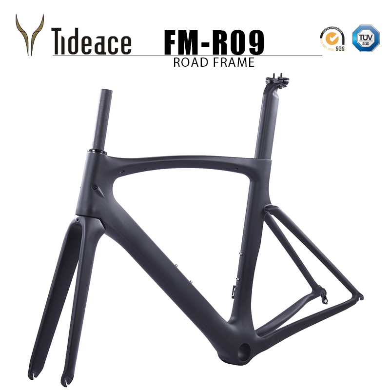 Light Weight Carbon Road Bike Frame Chinese Carbon Road Frame Cycling Bicicleta 54cm PF30 Road Bike