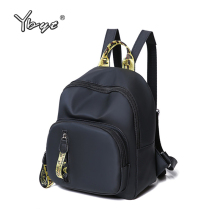 YBYT brand 2018 new casual preppy style women backpack panelled simple ladies travel bag small rucksack student school backpacks