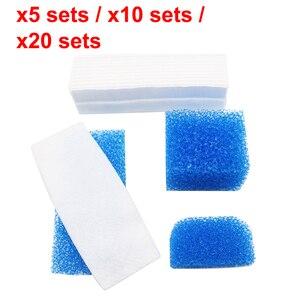 Image 1 - 5 /10 /20 Sets Hepa Filter for Vacuum Cleaner Parts Sponge Suit for Thomas 787203 Twin Aquafilter Genius Aquafilter High Quality