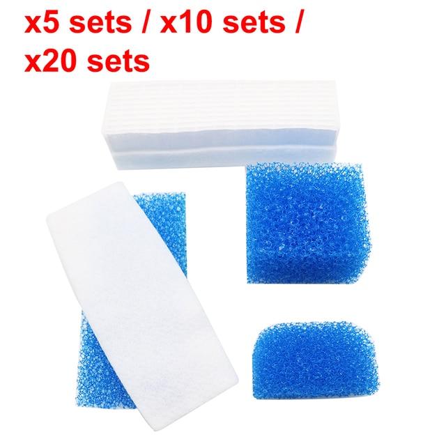 5 /10 /20 Sets Hepa Filter for Vacuum Cleaner Parts Sponge Suit for Thomas 787203 Twin Aquafilter Genius Aquafilter High Quality
