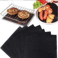 Heat Resistant Teflon Baking Mat Reusable BBQ Non-stick Grill Mat Teflon baking pan Easy Clean Grilling Mat BBQ Tools