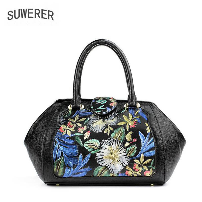 SUWERER2017 new high-quality fashion luxury brand handbag genuine leather shoulder bag counter genuine, female well-known brands laorentou high quality fashion luxury brand 2017 new shoulder bag leather bag counter genuine women s well known brands