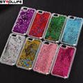 Fashion Colorful sequins Dynamic Liquid Glitter meteor sand Clear Hard Shell Mobile Phone Case For iphone X 4 5 SE 6 6s 7 8 Plus