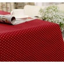 Mesa de Navidad del Paño de algodón y Lino Tejido Impreso Coreano Endlesss Casa/Al Aire Libre/Parte Size60 * 60-140*220 Párr Mesa Manteles Navidad