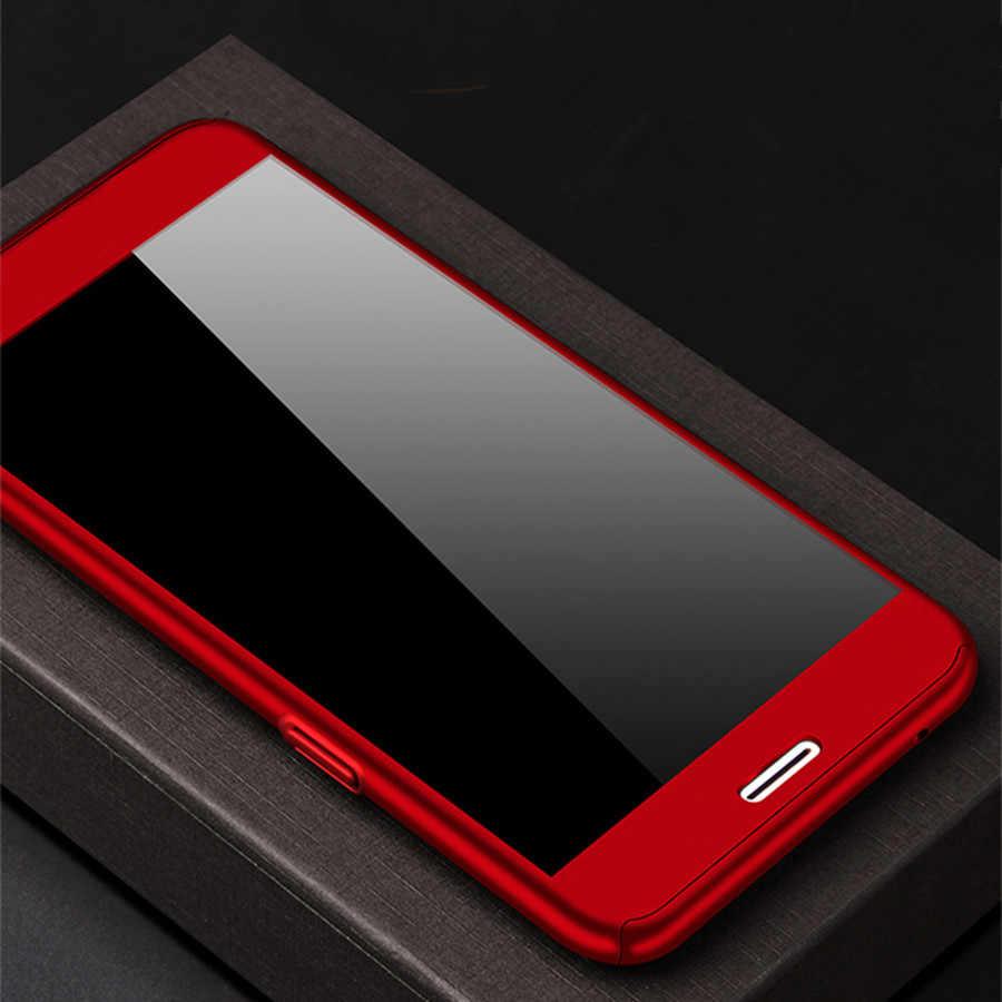 ل شياو mi الأحمر Mi 3 ثانية 4 برو 4A 4X 5A 5 زائد ملاحظة 3 4 4x5 برو حالة Xio mi mi A1 5 ثانية mi x 2 ملاحظة 2 360 قطعة غطاء حالة الزجاج المقسى