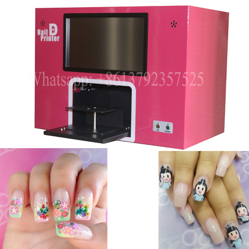 Por Spa Artist Digital Nail Art Printing Machine Without Puter