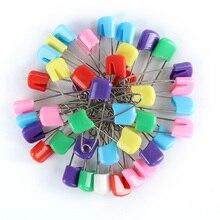 30 шт цветные детские безопасные булавки для предотвращения отскока