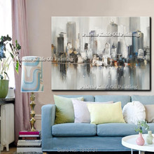 New York City Painting Home Decor Decoration Oil painting Wall Pictures for living room paint art 1