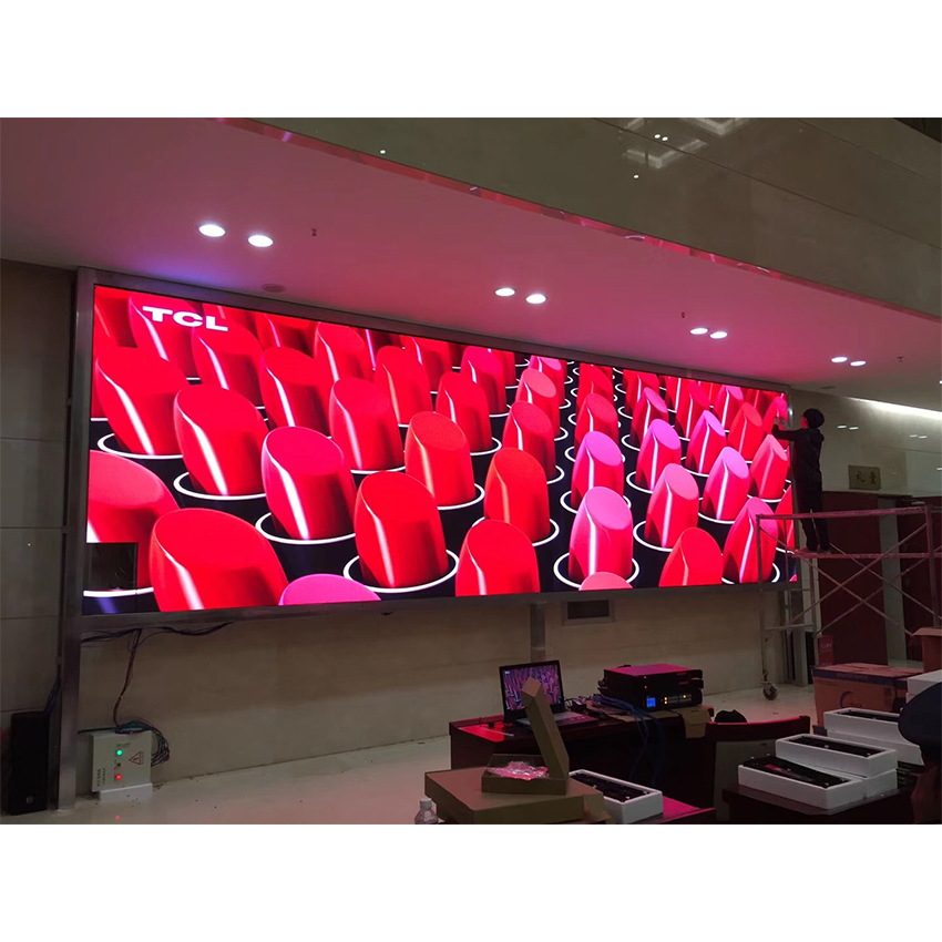 P3 HD LED Pantalla Panel 576*576mm Die Casting Aluminum Cabinet Rental LED Display Screen For Indoor Building Advertising