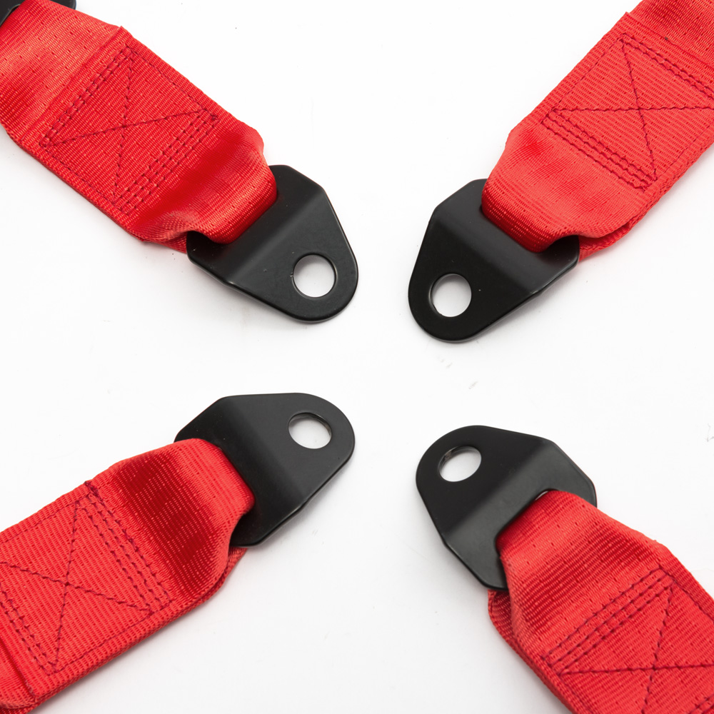 Image 5 - ألوان مختلفة 2 بوصة العالمي سباق السيارات 4 نقطة السيارات سلامة السيارات مقعد حزام مشبك تسخير EPM 02BUC4 pointseat belt bucklesafety seat belt buckle -
