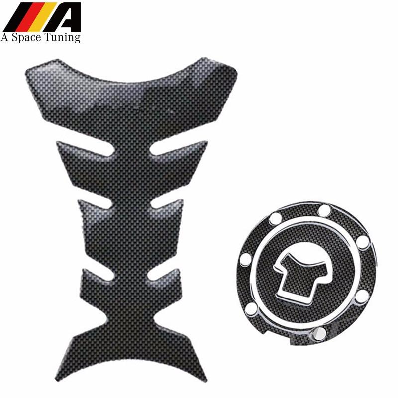 Fuel Gas Tank Cap Protector Pad For Kawasaki Z900 2015-2017 Sticker Decal Gas Fuel Tank Protector Pad