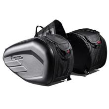 2Pcs Motorcycle Side Bag Saddle Locomotive Multi-Function Race Moto Helmet Travel Riding Bags Suitcase for GHOST RACING