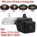 Para Mercedes Benz Classe C W203 Classe E W211 CLS Class W219 300 car câmara de visão traseira Reversa back up