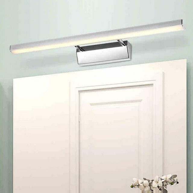 500mm mirror light in bathroom aluminum wall lamps over mirror 85 500mm mirror light in bathroom aluminum wall lamps over mirror 85 265v 8w decoration sconce mozeypictures Image collections