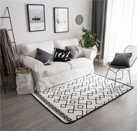 Large Size 150 195CM Carpet Fashion Rug And Carpet For Home Living Room Velvet Surface Bedroom