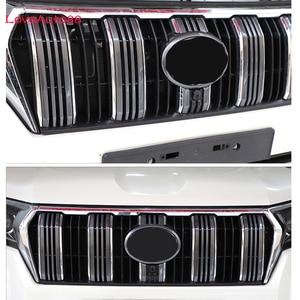Image 3 - Car Insect Screening Mesh Front Grille Insert Net For Toyota Land Cruiser Prado 150  J150 LC150 FJ150  2018 2019 2020
