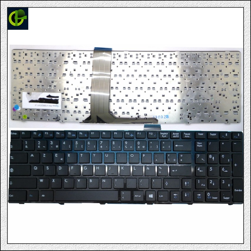 French Azerty Keyboard for MSI MS-1755 MS-1756 MS-175A MS-1758 MS-1759 MS-1762 MS-1763 MS-1764 MS-16F3 MS-16F4 MS-1761 FR