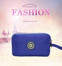 New Ladies Long Coin Purse Fashion High Quality Canvas Bag Clutch Female Cloth Handbag Mobile Phone Mini