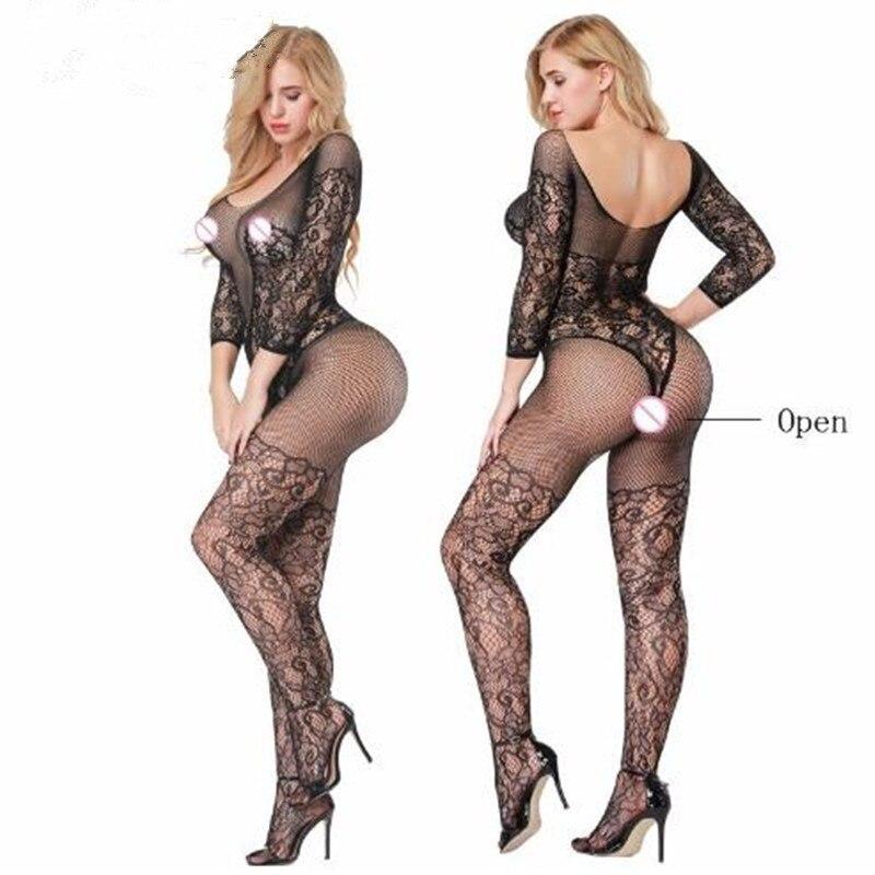 Women Slips sexy bodystockings open cloth intimates romper bodysuits Onesies Sleep Tops