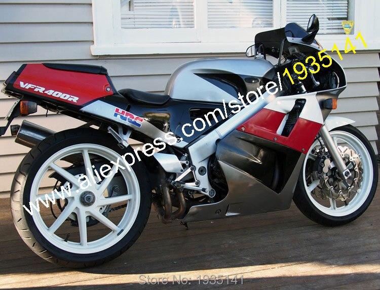 Горячие продаж,для Honda VFR400 NC30 88-92 ВФР 400р 1988 1989 1990 1991 1992 VFR400R NC30 СПЧ послепродажного спортивный велосипед АБС обтекатель комплект