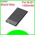 Bateria isunoo 1450mah M-S1 ms1, bateria para amortecedor dura 9000 9030 9700 onyx 9780 9700 niagara 9630 bat-14392-001 bateria