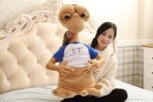 Дикие плюшевые игрушки E.T Alien в классическом фильме, 50 см, подушка для кукол с героями мультфильмов, детский день, Рождество, лучший подарок
