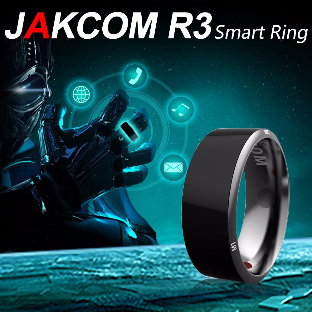 Jakcom R3 Smart Ring 3-proof App lubatud Wearable tehnoloogia Magic Ring Android Windows NFC telefon Smart tarvikud