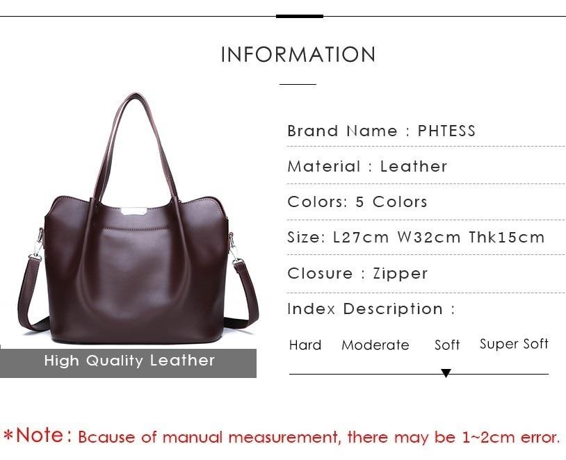 qualidade sac a principal grande capacidade tote