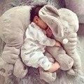 40 CM de Una Pieza Lindo Elefante de Juguete De Felpa Con La Nariz Larga Elefantes Almohadas Cojines de Algodón PP de Peluche Bebé Super Suave juguetes