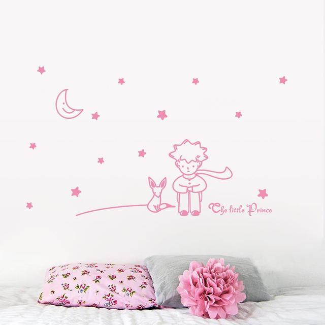 Multi Couleur Le Petit Prince Fox Vinyle Enfants Nursery