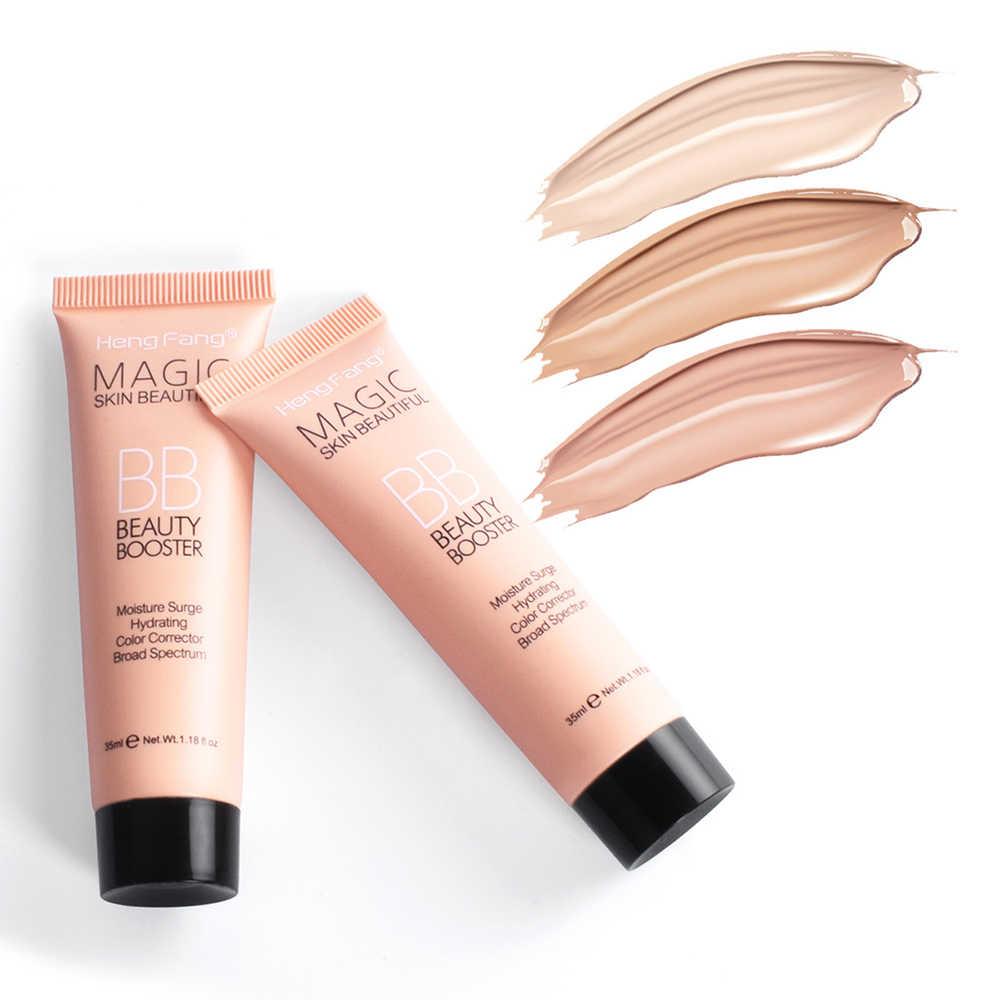 Foundation BB Cream Concealer Korektor Palet Penutup Mata Hitam Natural Makeup Concealer Wajah BB Cream
