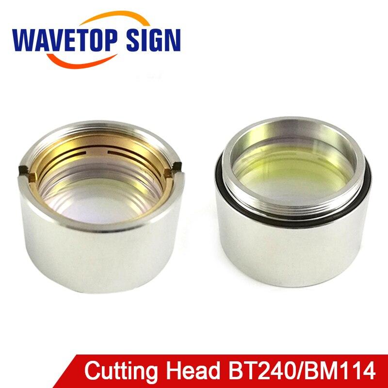 Raytools Cutting Head BT240/BM114 Fiber Focusing Mirror D30 F125 High Quality use for Fiber Laser 2000 4000W