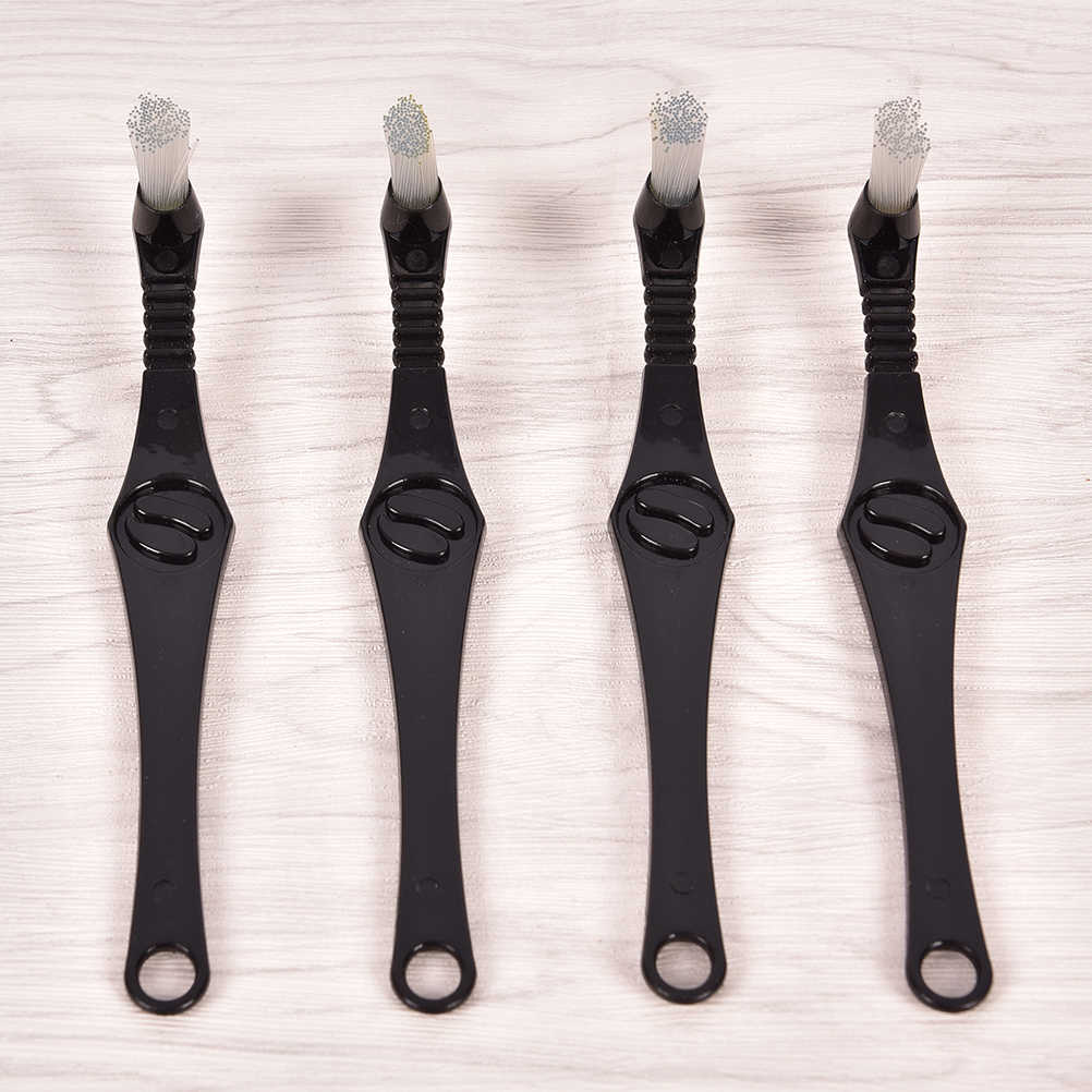 1Pc Coffee Machine Brush & Spoon Coffee Espresso Machine Group Head Kitchen Nylon Cleaning Brush Bristle Coffee Capsule 22cm