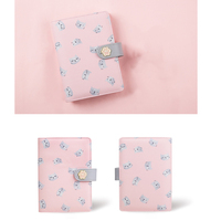 Never Cute Kitty Cat Spiral Notebook Korean Diary A6 Planner Organizer Grid Dotted Filler Paper School Student Gift Stationery