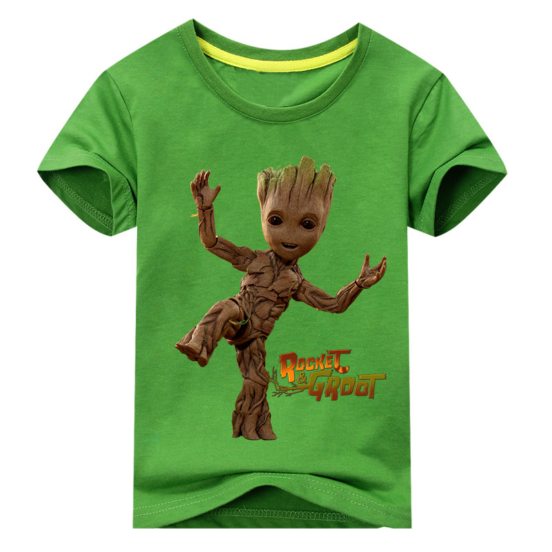 I AM GROOT T Shirt Newest Guardians of the Galaxy 2 Women t-shirt Anime baby pop groot Summer funny Female Cool Tops baby groot genuine brand funko pop guardians of the galaxy toy figure dancing groot bobblehead marvel groot garage kits model kids gift