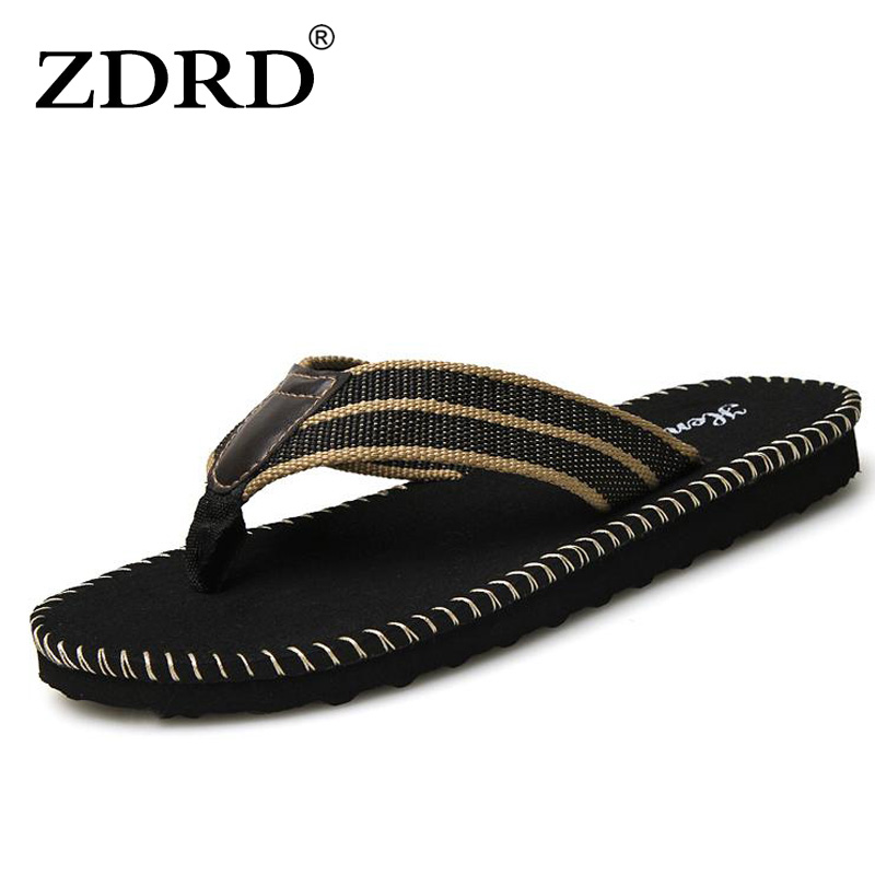 ZDRD Mens Flip Flops Sandals Rubber Casual Men slippers shoes Summer Fashion Beach Flip Flops Sapatos Hembre sapatenis masculino sandals men fashion new brand buckle mens flip flop sandals casual slippers brown summer beach sandals men shoes breathable