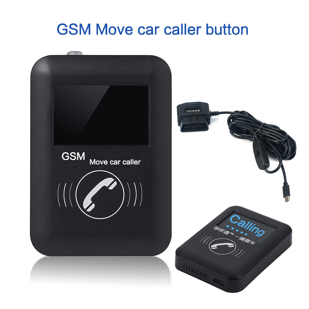 GSM Move Car Caller Pager/Automotive Safety Transfer Pager