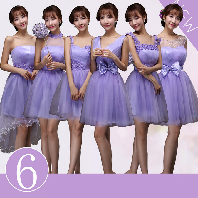 0924d591d0 vestidos dama de honor lila