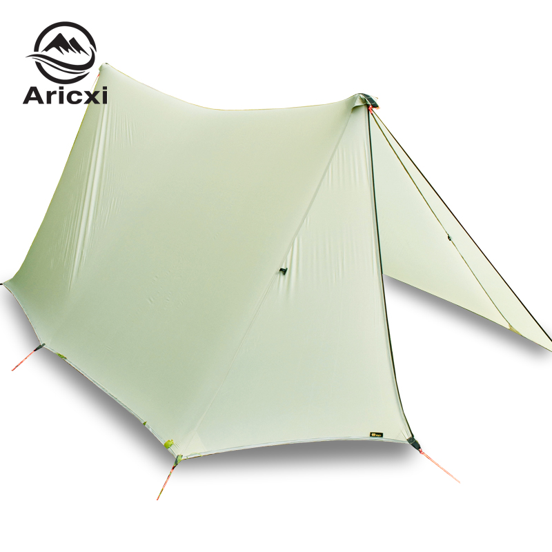Double Side Silicon Coated 20D Nylon Ultra light Awning Oudoor Rainfly Shelter Camping tarp