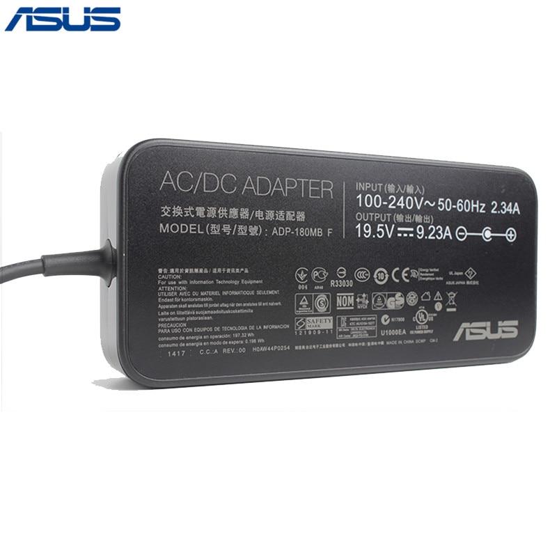 Asus 19V 9.23A 180W 5,5*2,5mm ADP-180MB F AC зарядное устройство адаптер для ноутбука
