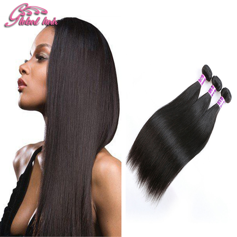 Gluna Beauty Products Indian Straight Hair Best Quality Virgin Indian Human Hair 3 Bundles Unprocessed Mink