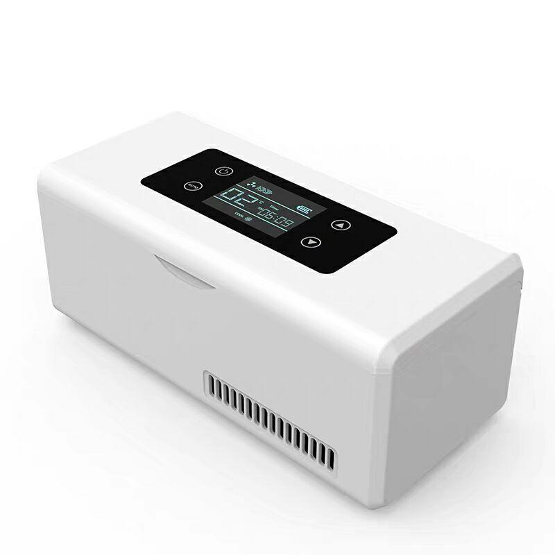 2018 Portable insuline stockage refroidisseur sac diabétique insuline refroidisseur boîte Rechargeable réfrigérateur Mini réfrigérateur glace boîte voyage sac