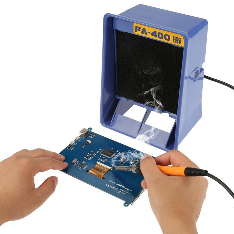 Hakko <font><b>FA</b></font>-<font><b>400</b></font> Welding Exhaust Anti-static Smoke Absorber For Easily Breathe & Safely & Efficiently Remove Welding Fumes image