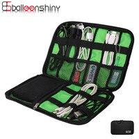 Elektronische Accessoires Tas Houder Oortelefoon Kabels USB Flash Drives Organizer Polyester Reizen Digitale/Elektrische Draad Opbergtas