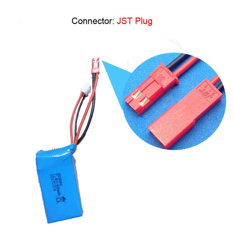 Batterie Lamsam pour Wltoys A949 A959 A969 A979 K929 batterie LiPo 7.4 V 1400 mah 25c batterie Lipo pour avion hélicoptère RC
