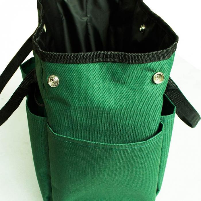 Garden Tote Bag Size: 34.3x17.2x30.5cm,This Garden Tote Is A Good Tool  Organizer For Home Garden Tote Home Organizer Material:Terylene 600D  Material, ...