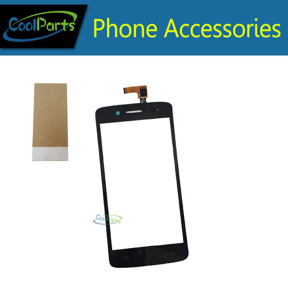 1PC/Lot High Quality For Prestigio MultiPhone PAP5507 PAP 5507 Duo Touch Screen Digitizer Touch Panel Glass+Tape Black Color